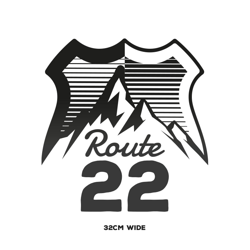 Route 22 Logo – Large
