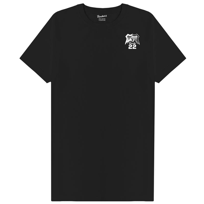 Route 22 Logo Tee Black