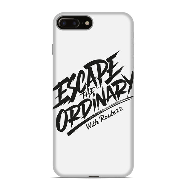 Escape The Ordinary Phone Case - White