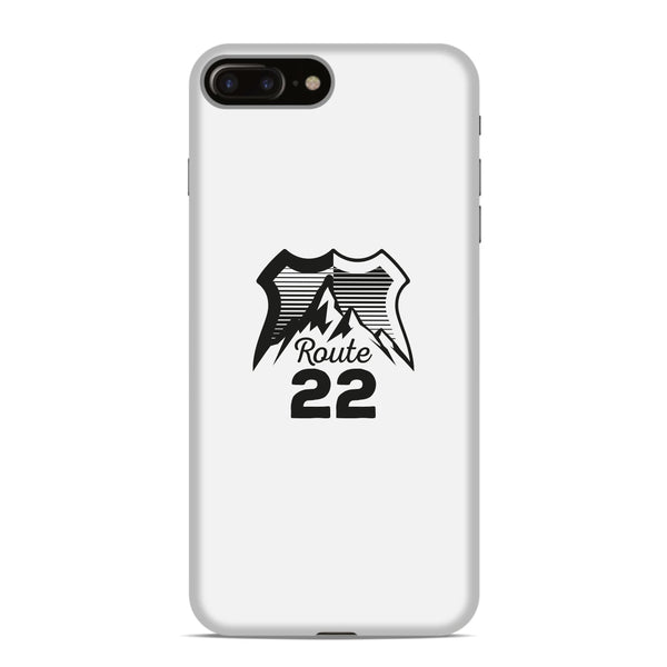 Route 22 Logo Phone Case - White