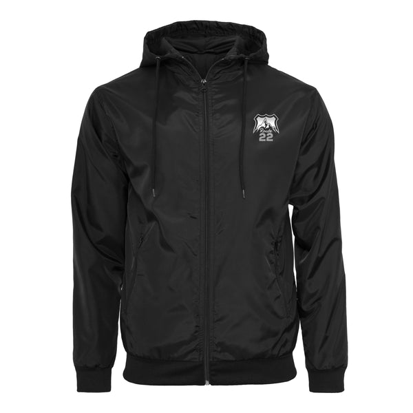 Route 22 Windrunner Coat Black/Reflective