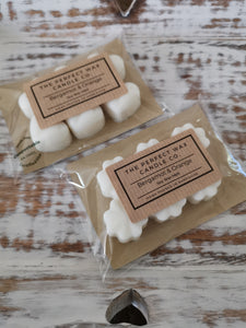 The Perfect Wax Candle Co. Hand Poured Bergamot & Orange Soy Wax Melts - 6pk