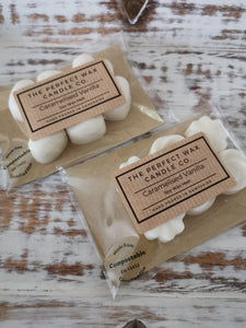 The Perfect Wax Candle Co. Hand Poured Caramelised Vanilla Soy Wax Melts - 6pk
