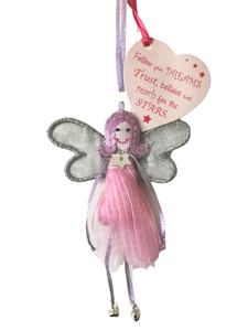 Quote Fairy - Follow Your Dreams - Fair Trade