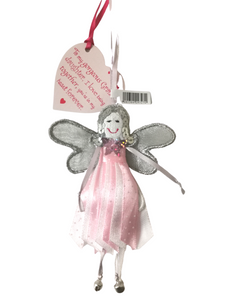 Polka Dot Quote Fairy - To My Gorgeous Grand-daughter - Fair Trade