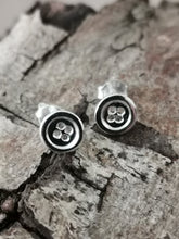 Load image into Gallery viewer, 925 Sterling Silver Button Stud Earrings