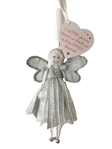 Quote Fairy - Love You To The Moon - Fair Trade