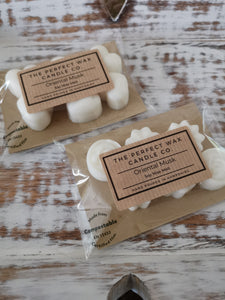 The Perfect Wax Candle Co. Hand Poured Oriental Musk Soy Wax Melts - 6pk