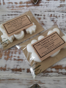 The Perfect Wax Candle Co. Hand Poured Pear Drops Soy Wax Melts - 6pk