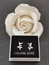 Load image into Gallery viewer, 925 Sterling Silver Branch Stud Earrings