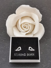 Load image into Gallery viewer, 925 Sterling Silver Hollow Angel Wing Stud Earrings