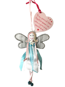 Polka Dot Quote Fairy - To My Special Sister - Fair Trade