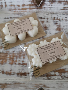 The Perfect Wax Candle Co. Hand Poured Vanilla Soy Wax Melts - 6pk