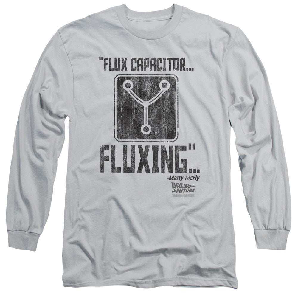 Back To The Future - Fluxing Long Sleeve Adult 18/1