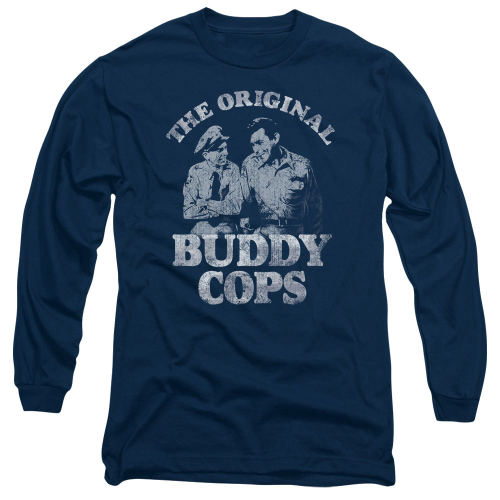 Andy Griffith - Buddy Cops Long Sleeve Adult 18/1