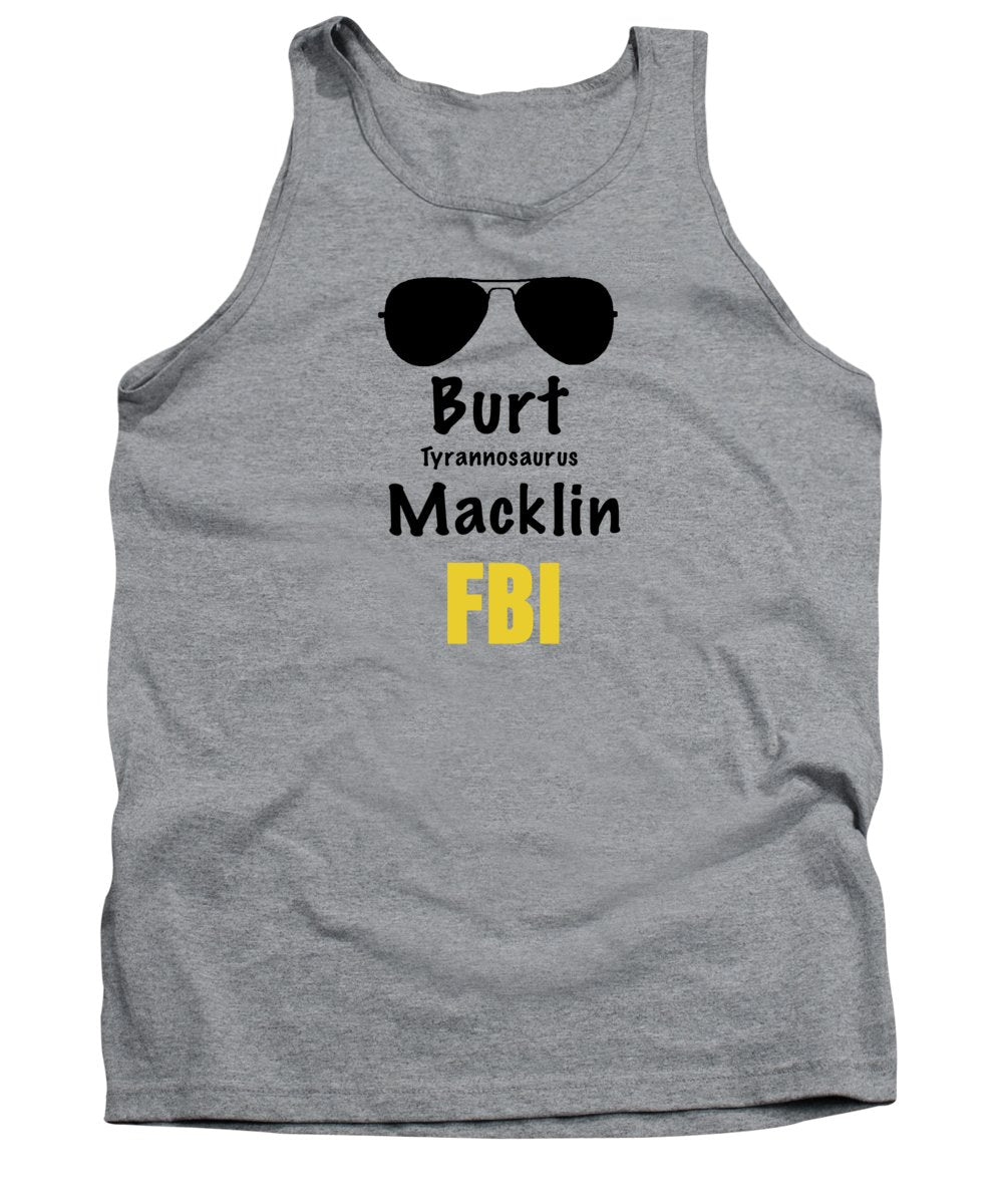 Burt Macklin Fbi - Pawnee Has Never Been In Better Hands. - Tank Top