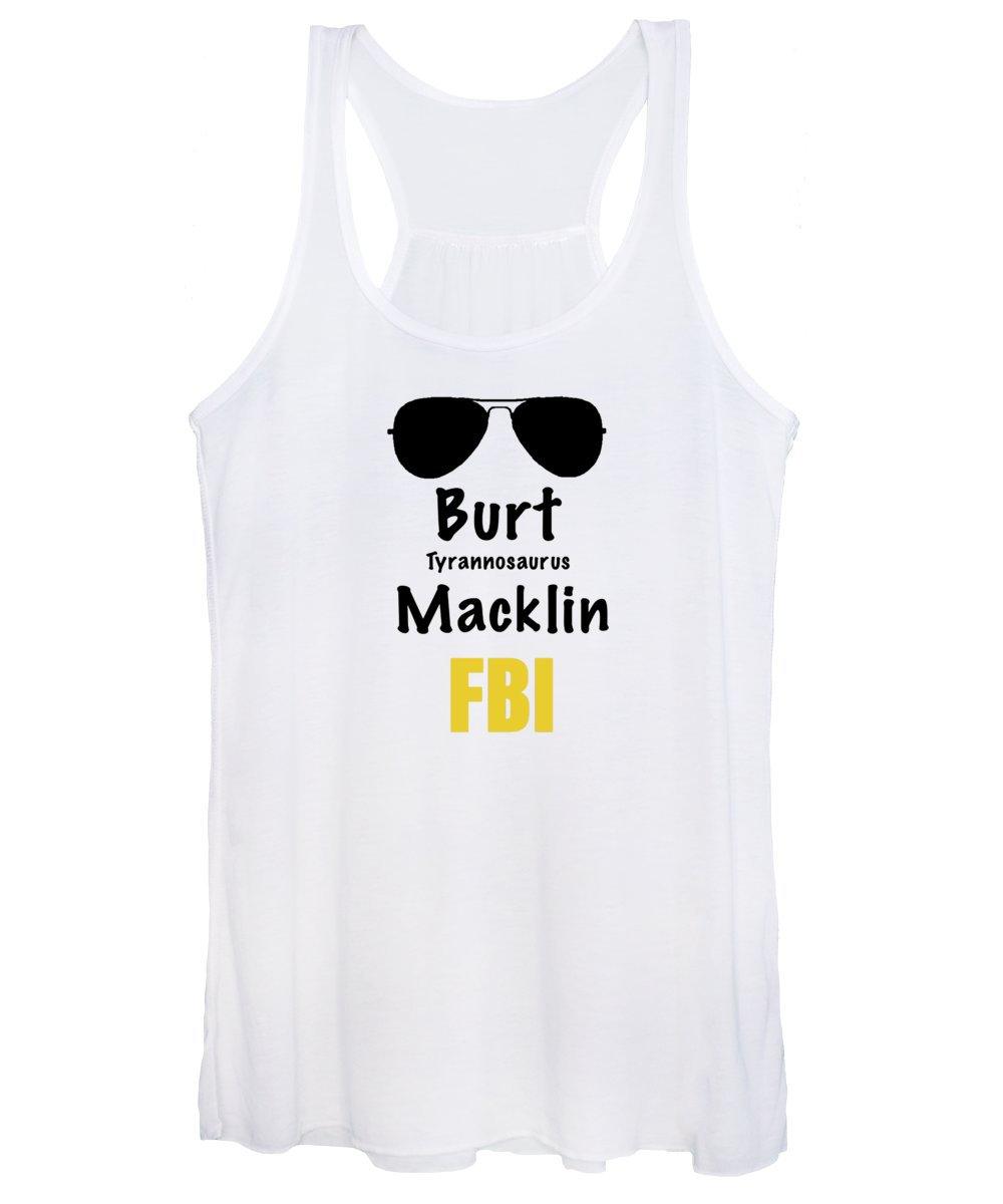 Burt Macklin Fbi - Pawnee Has Never Been In Better Hands. - Women's Tank Top