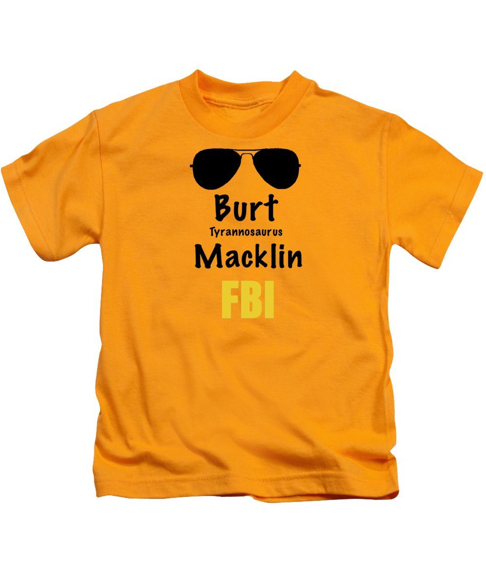Burt Macklin Fbi - Pawnee Has Never Been In Better Hands. - Kids T-Shirt