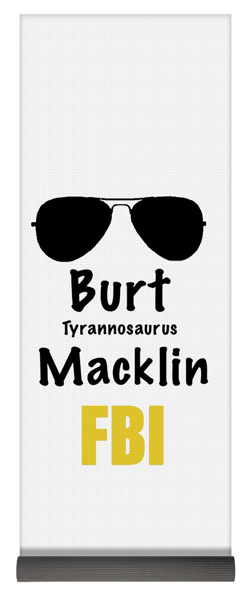 Burt Macklin Fbi - Pawnee Has Never Been In Better Hands. - Yoga Mat