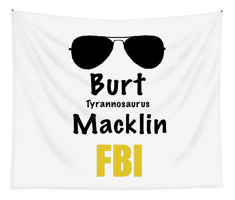 Burt Macklin Fbi - Pawnee Has Never Been In Better Hands. - Tapestry