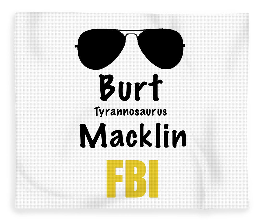 Burt Macklin Fbi - Pawnee Has Never Been In Better Hands. - Blanket