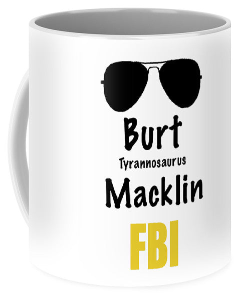 Burt Macklin Fbi - Pawnee Has Never Been In Better Hands. - Mug