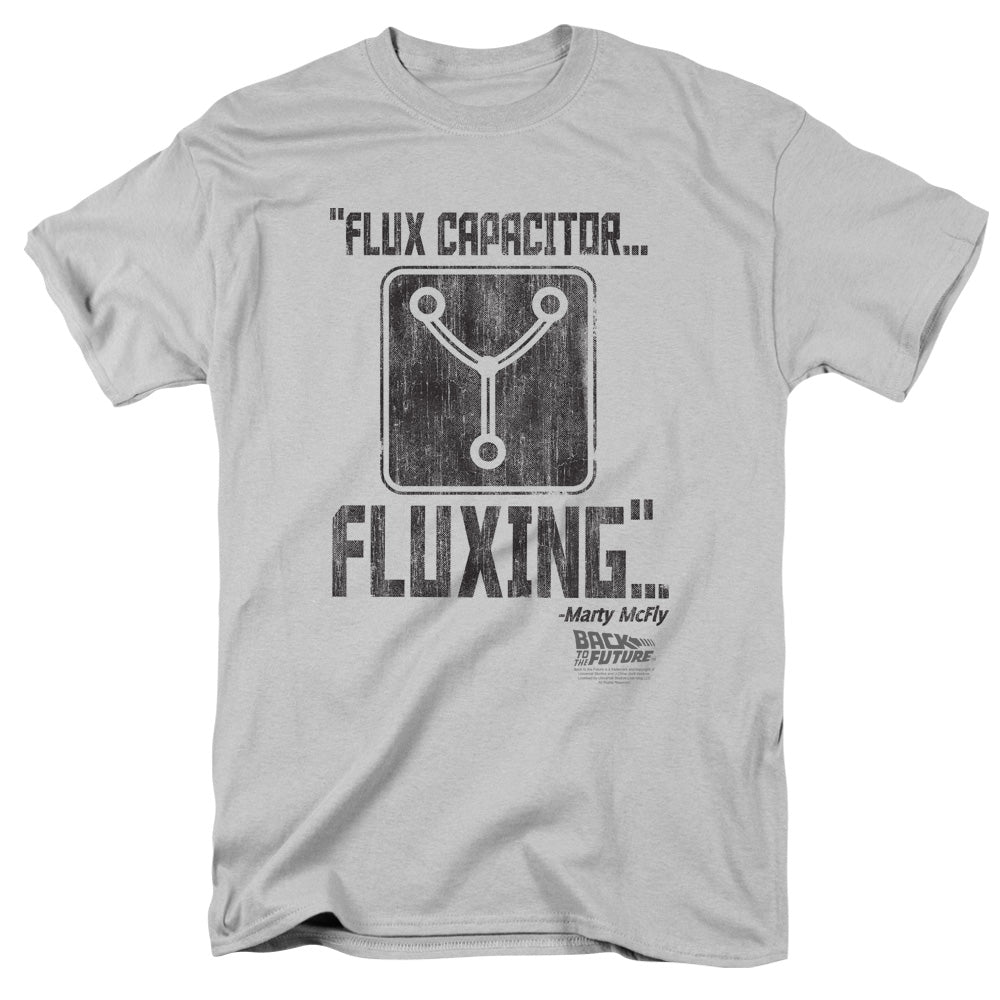 Back To The Future - Fluxing Short Sleeve Adult 18/1