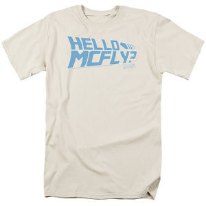 Back To The Future - Hello Mcfly Short Sleeve Adult 18/1