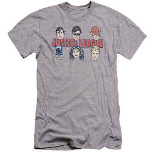 Dc - Justice Lineup Premium Canvas Adult Slim Fit 30/1