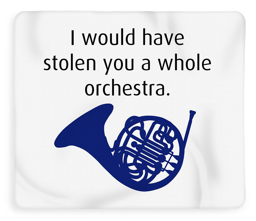 I Would Have Stolen You A Whole Orchestra.  How I Met Your Mother, Himym. - Blanket