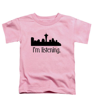 I'm Listening.  From Kacl In Seattle, Dr. Crane Is Here To Help.  - Toddler T-Shirt