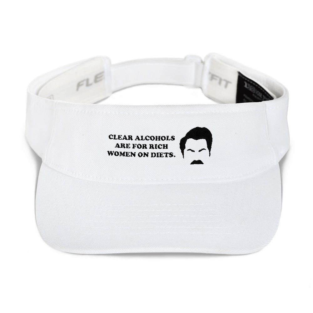 Ron Swanson clear alcohols are for rich women on diets Visor.