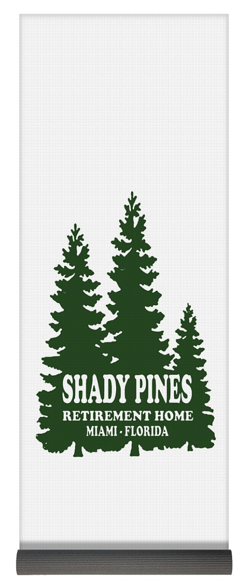 Shady Pines Retirement Home, Miami Florida.  Golden Girls Favorite.  - Yoga Mat