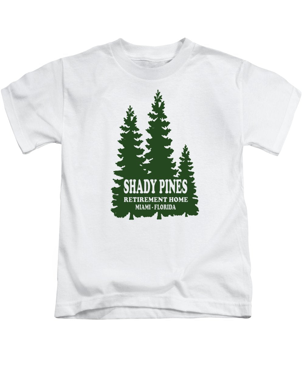 Shady Pines Retirement Home, Miami Florida.  Golden Girls Favorite.  - Kids T-Shirt