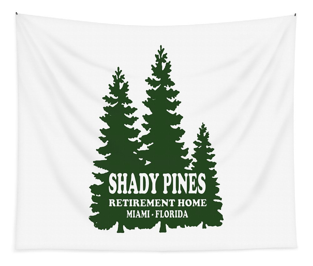 Shady Pines Retirement Home, Miami Florida.  Golden Girls Favorite.  - Tapestry