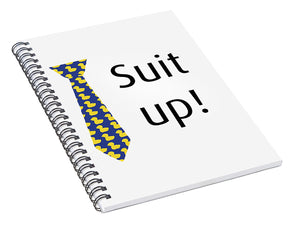 Suit Up, How I Met Your Mother. Himym. - Spiral Notebook
