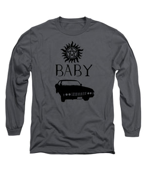 Supernatural Baby Anti Possession Symbol - Long Sleeve T-Shirt