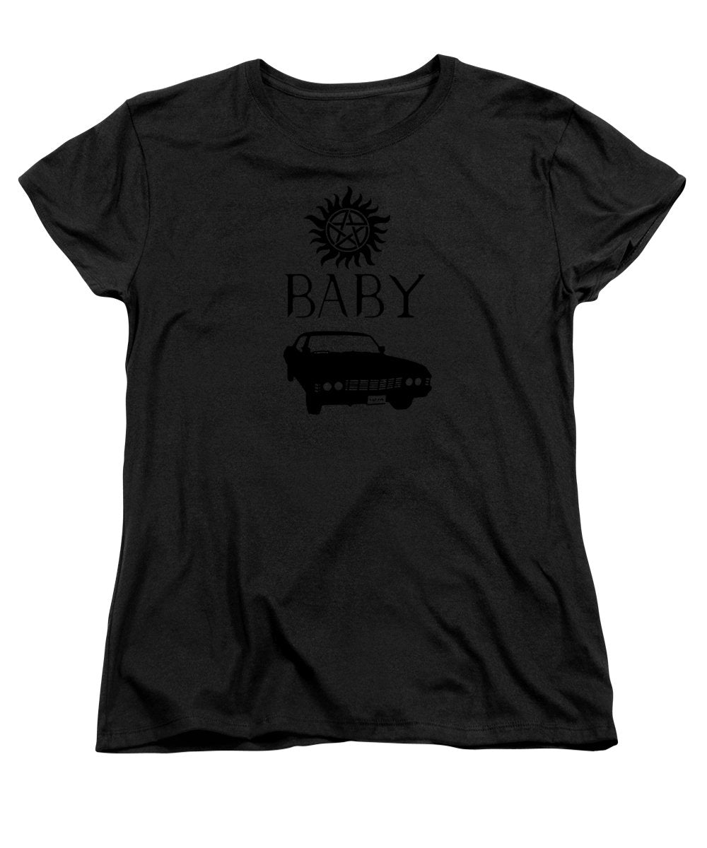 Supernatural Baby Anti Possession Symbol - Women's T-Shirt (Standard Fit)