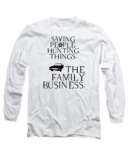 Supernatural Saving People Hunting Things - Long Sleeve T-Shirt