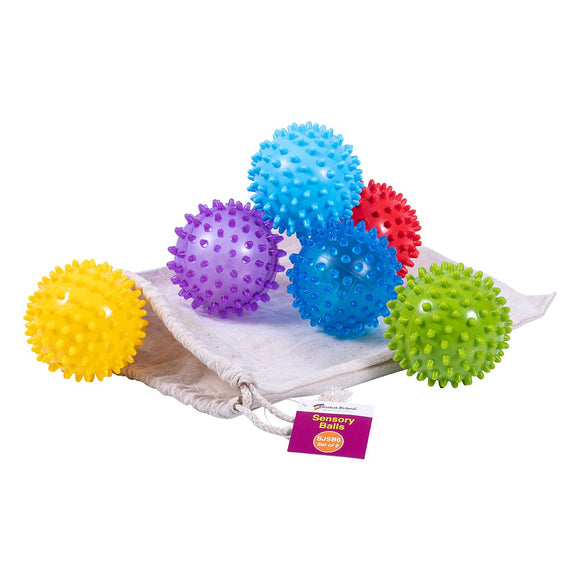 Sensory Balls (Set of 6) - Sensory Superstars