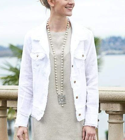 Crown Linen Jessie Jacket