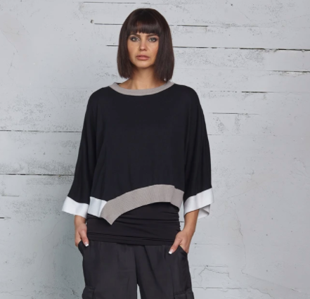 Planet Bell Sleeve Knit Top