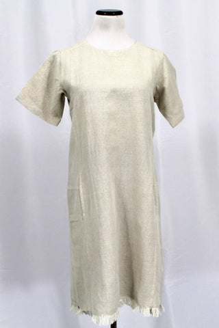 Crown Linen Dress - [variant_title] - beyondcotton.myshopify.com