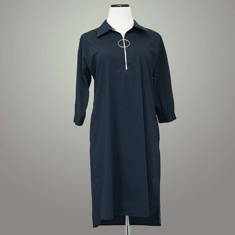 Lauren Vidal Dress - Navy / M - beyondcotton.myshopify.com