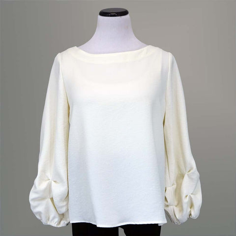 Beau Jours Aideen Top - Cream / L - beyondcotton.myshopify.com