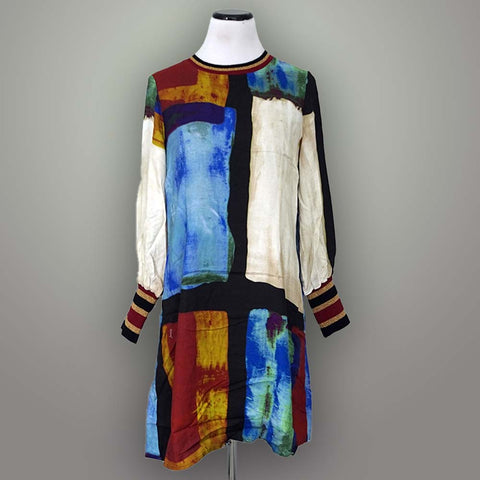 Katherine Barclay Dress - Abstract / XL - beyondcotton.myshopify.com
