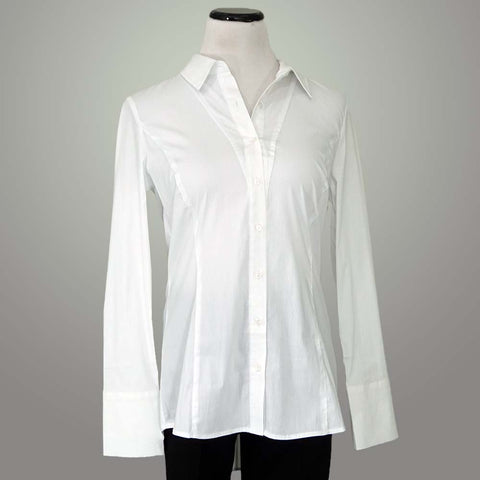 Renuar Cotton Shirt - White / S - beyondcotton.myshopify.com