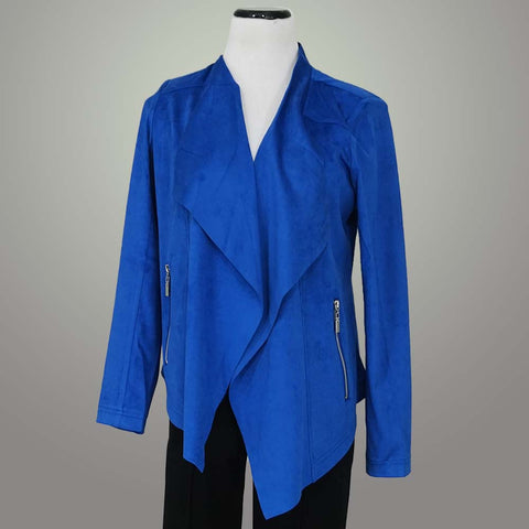Luii Jacket - Royal / S - beyondcotton.myshopify.com