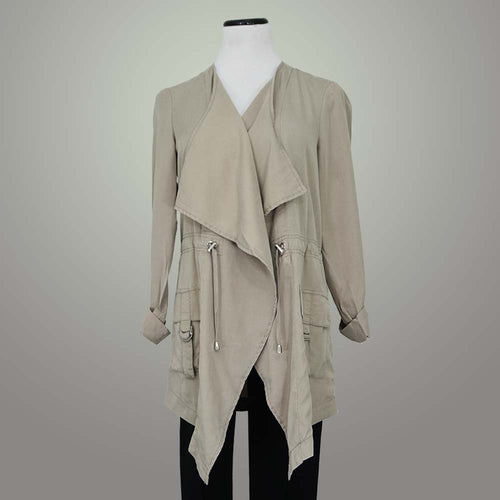 Renuar Drawstring Wrap Jacket