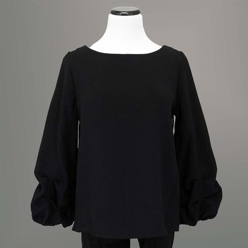 Beau Jours Aideen Top - Black / S - beyondcotton.myshopify.com